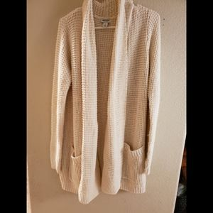 Old Navy Chunky Knit Open Front Cardigan